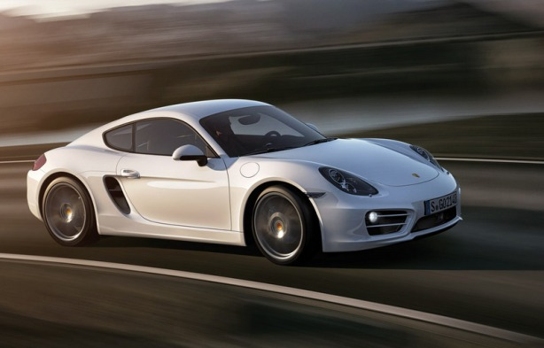 The 2014 Porsche Cayman just looks fast.