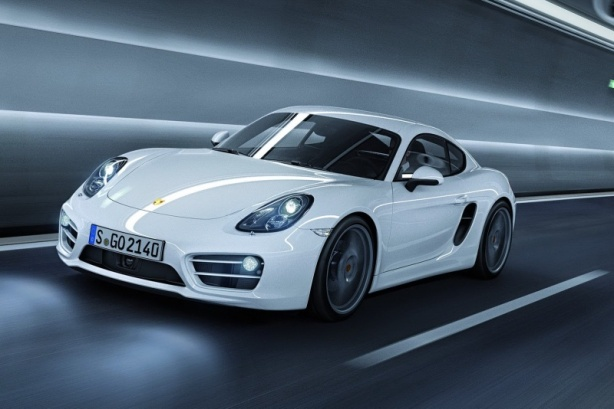 2014 Porsche Cayman in one of three colors that don't cost extra - White, Black and Yellow.