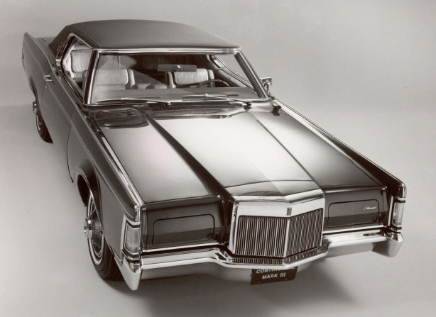 This 1970 Lincoln Continental Mk III was definitely a statement car.  An executive's personal luxury car.