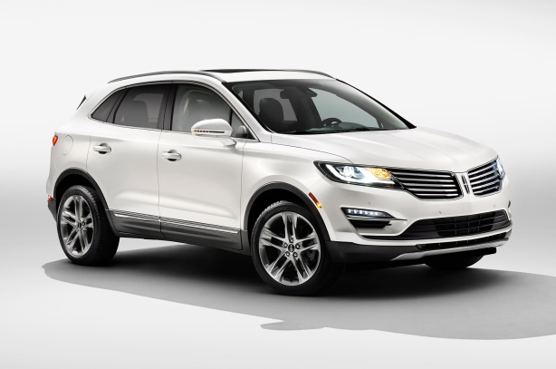 The 2015  Lincoln MKC hopes to capture a profitable chunk of the red-hot compact crossover segment.