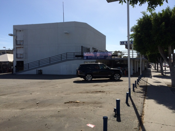 The sad sack building and nearly empty parking lot tell a story.