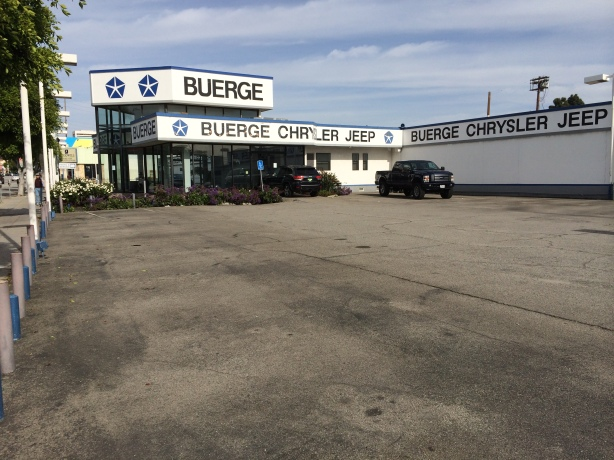 All the inventory is gone from Buerge Chrysler-Jeep-Dodge-Ram in West LA