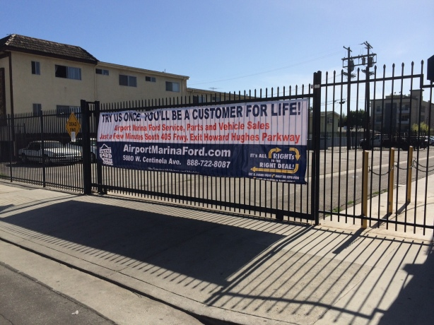Buerge Ford Customers are referred to Airport Marina Ford near LAX.