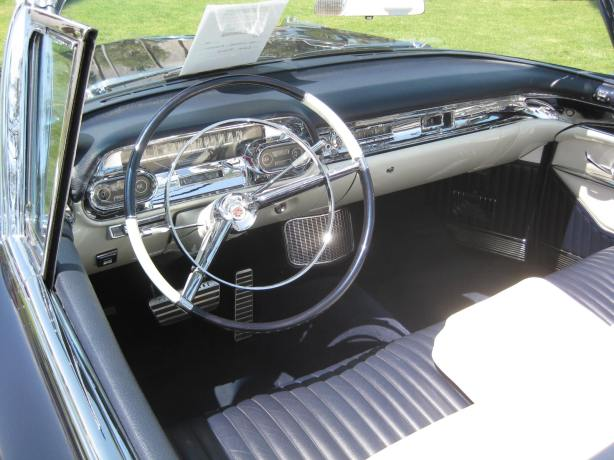 No expense was spared for the interior of these Cadillacs.
