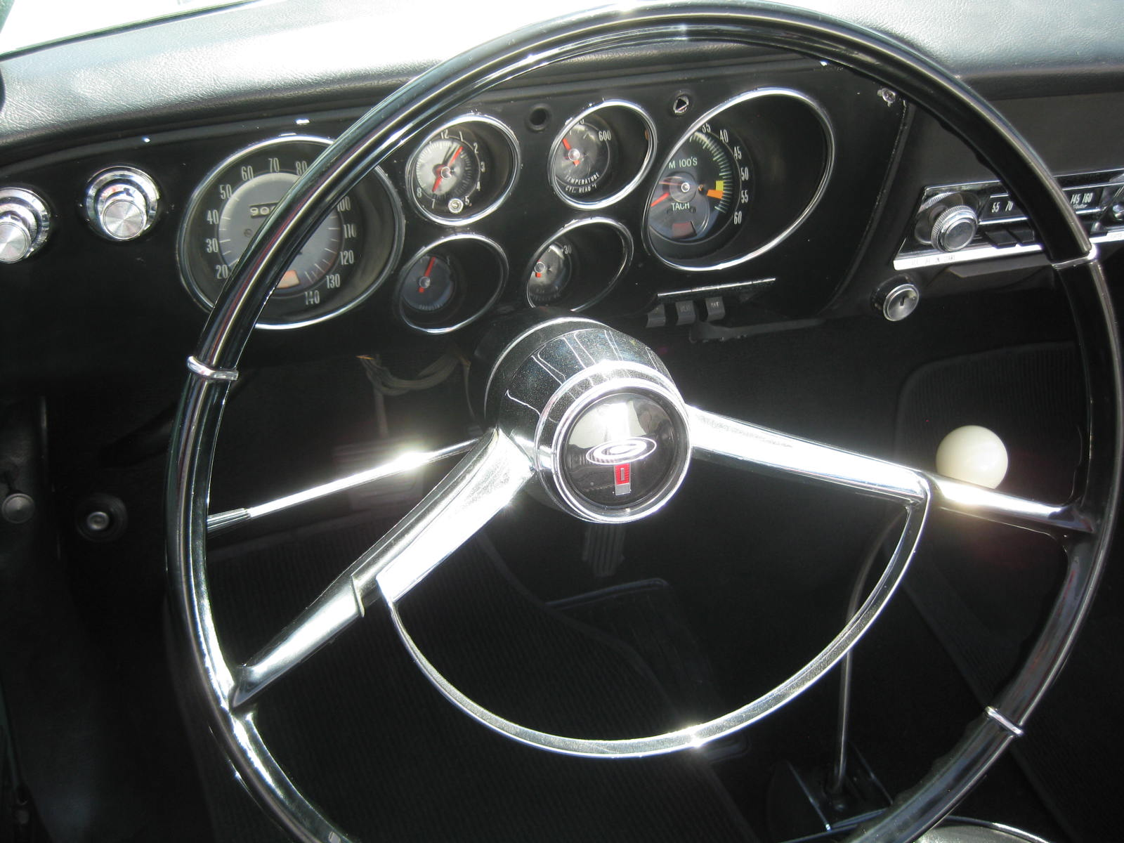 Chevy Corvair Interior