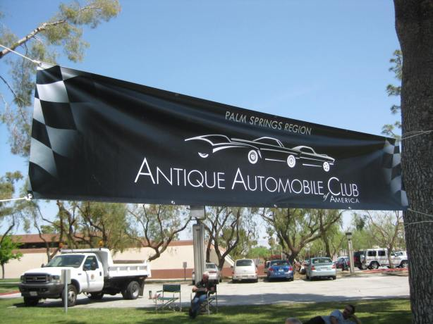 First Annual Palm Springs Region Antique Automobile Club of America
