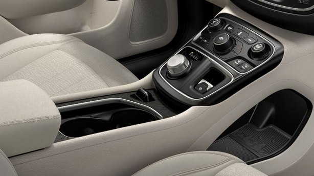 The 2015 200 sports a slick new center console.