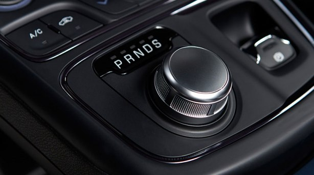 "The rotary gear selector looks good and feels like a nicely-weighted, machined knob. It just doesn't ""rock"" well between gears."