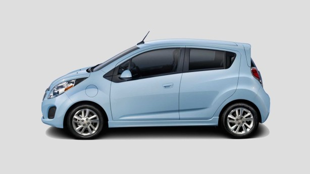 2015 Chevrolet Spark EV in Electric Blue
