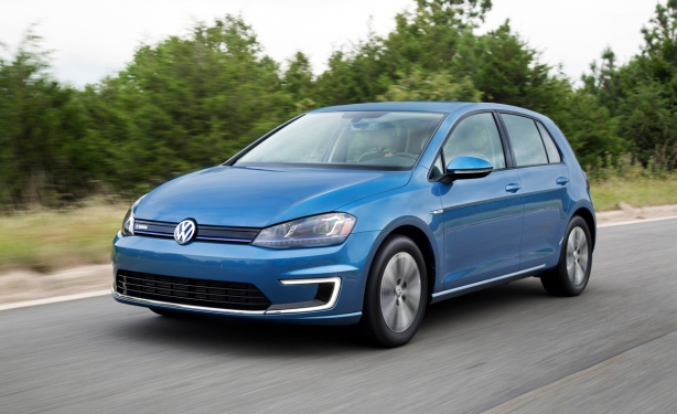2015 VW e-Golf in Pacific Blue