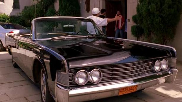 The younger audience may remember the 1965 Lincoln Continental Convertible used in the hit HBO show Entourage.