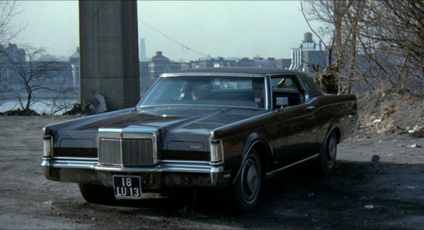 Maybe classic movie buffs will remember the 1970 Lincoln Continental Mark III that was integral to the cop thriller The French Connection.