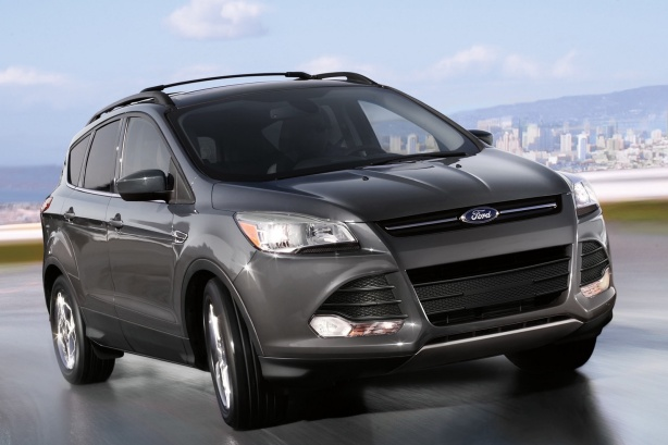 2015 Ford Escape. The MKC shares a platform and powertrains with the Escape. The interior and sheet metal is all unique to the MKC.