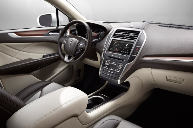 The interior is very nice with mostly soft-touch surfaces. It's far more pleasing than the Ford Escape.